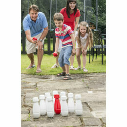 Traditional Garden Games - Wooden Garden Skittles