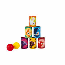 Janod Forest Tumbling Cans