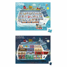Janod 100 & 200 Piece Puzzles - Cruise Ship