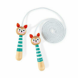 Janod Wooden Skipping Rope - Fox