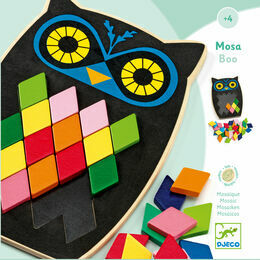 Djeco Educational Game - Mosa Boo Mosaic