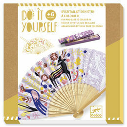 Djeco Do it Yourself - Woodland Beauty Fan