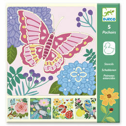 Djeco Stencil Set - Garden Wings