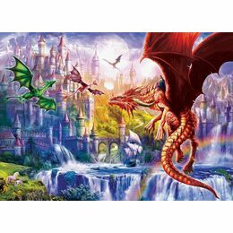 XXL Pieces - Dragon Kingdom 500 Piece Puzzle