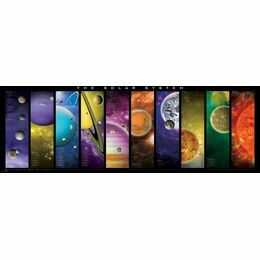 The Solar System 1000 Piece Puzzle