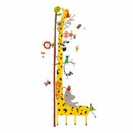 Djeco Removable Wall Stickers Height Chart - Friends of the Amazon