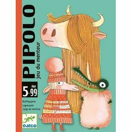 Djeco Card Game - Pipolo