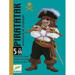 Djeco Piratatak Card Game