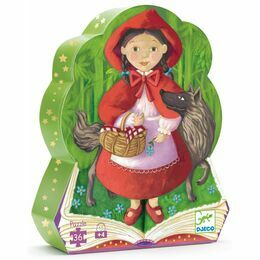 Djeco Little Red Riding Hood 36 Piece Jigsaw Puzzle
