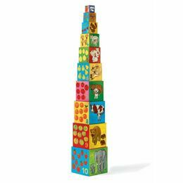 Djeco 'My Animal Friends' Stacking Cubes