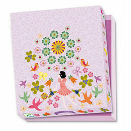 Djeco Stationery Set - Violette