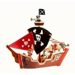 Djeco Pirate Ship Toy