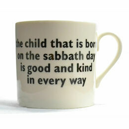 big tomato company Sunday's Child Mug