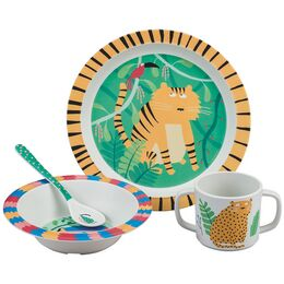 Petit Jour Paris Jungle Melamine 4 Piece Gift Set