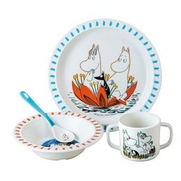 Petit Jour Paris New Moomin Melamie 4 Piece Gift Set