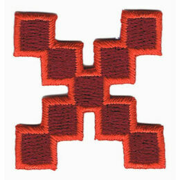 Jennie Maizels Alphabet Patch - Letter X - Red
