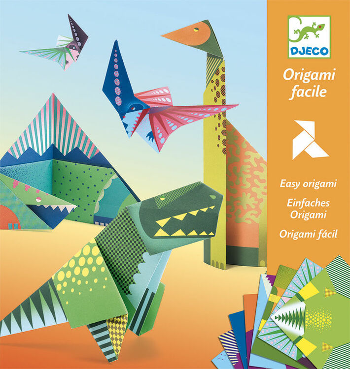 step by step instructions how to make an origami A Dinosaur ... | 750x710