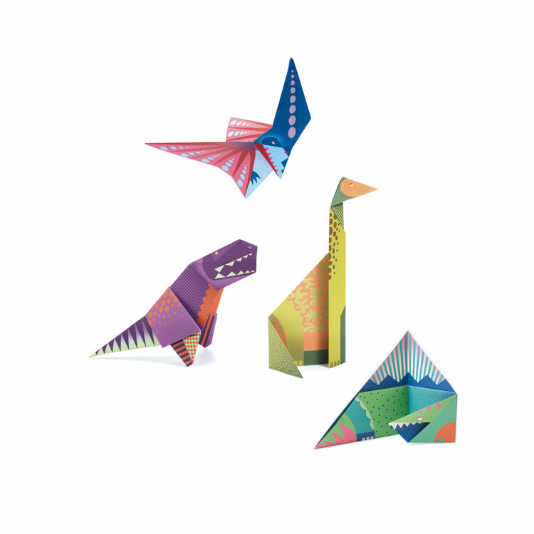These 27 Prehistoric Origami Models are Dino-mite! | 750x750