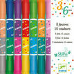 Djeco 8 Chunky Twin-Ended Washable Felt Tip Pens - 16 Colours additional 1