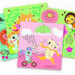 Djeco Lace-up / Stitching Cards - Friends additional 2