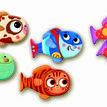 Djeco Memo Fish Matching Game additional 2