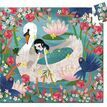 Djeco Silhouette Jigsaw Puzzle - Lady with the Swan additional 2