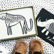 Wee Gallery Art Cards for Baby - Safari additional 2