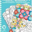 Djeco Mini Graphic - Floral Colouring Pictures additional 1