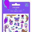 Djeco Mini Glitter Stickers - Chimeres/Illusions additional 1