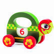 Djeco Wooden Push Along Toy - Speedy additional 1