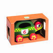 Djeco Wooden Push Along Toy - Speedy additional 2