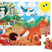 Janod 24 Piece Jigsaw Puzzle in a Box - Forest additional 2