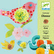 Djeco Pompon Making Kit - 3 Hanging Birds additional 1