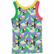 Vitoria Printed Vest Top - Periwinkle Toucans additional 2