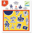 Djeco Stamp and Ink Set - Pirates additional 1