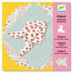 Djeco Origami Papers - 100 Decorative Pink Sheets additional 1