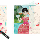 Djeco Art Workshop - Ribbon & Lace Chalk Markers additional 6