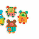 Djeco Lacing Game - Cuddly Animals additional 2
