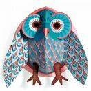 Djeco Pop Up 3D Wall Decoration - Owl additional 1