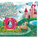 Djeco Princess Elsie's Carriage Silhouette Puzzle - 54 Pieces additional 2