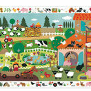 Djeco 35 Piece Observation Puzzle - The Farm additional 1
