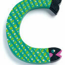 Djeco Animal Wooden Letter - C - fish additional 1