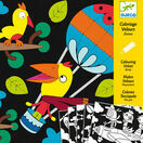 Djeco Colouring in Velvet - Birdz additional 1