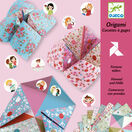 Djeco Origami - Pink Flower Fortune Teller additional 1