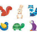 Djeco Puzzle Duo - Articulated Animals additional 2