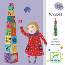 Djeco Nature and Animal Stacking Cubes additional 2