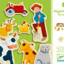 Djeco Magnetic Game - Farm additional 1