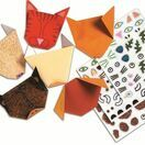 Djeco Origami Papers - Animals additional 4