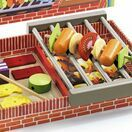 Djeco BBQ Wooden Role Play Set - Joe and Max Grill additional 2