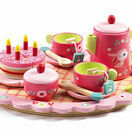 Djeco Wooden Tea Set - Lili Rose additional 1
